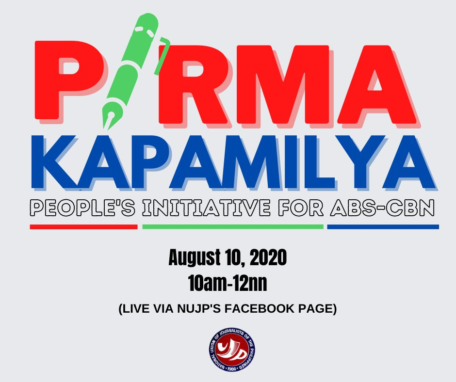 Can a people's initiative bring ABS-CBN back on air?  Join us this Monday, August 10, from 10:00 AM to 11:30 AM as we discuss how people are mobilizing to bring back ABS-CBN.  To register please sign-up through:  https://forms.gle/GYWmT3oxpVAU25Z88 …  #DefendPressFreedom #IbalikAngABSCBN pic.twitter.com/0N7cWurvOk