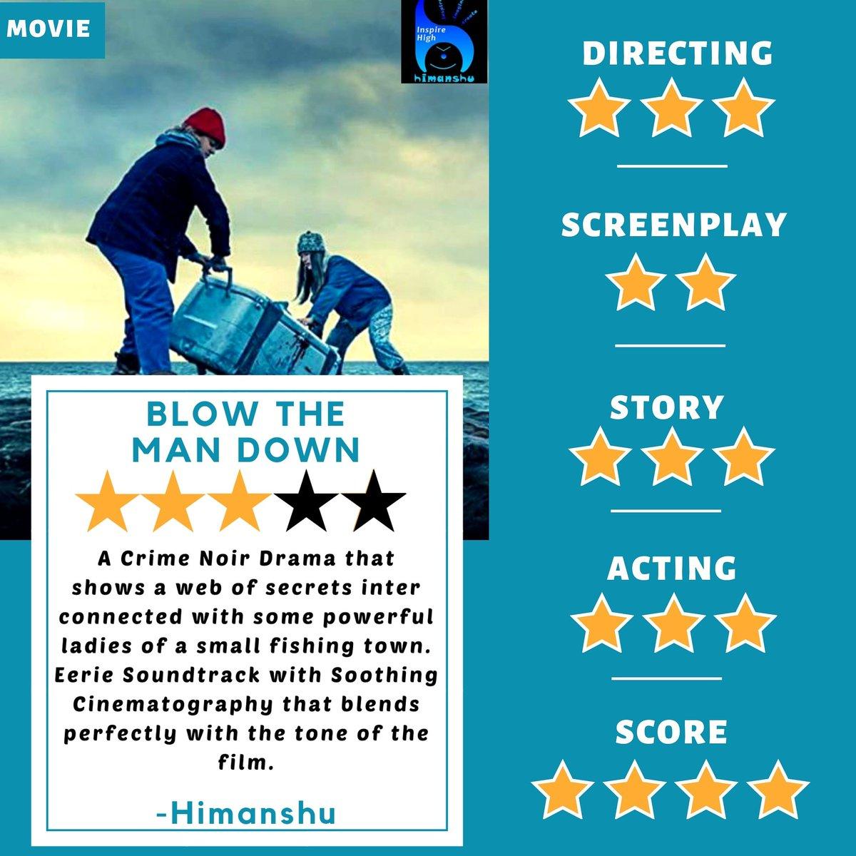 Blow the Man Down (2020) - Rapid Review by Himanshu | Him Rating: 3/5   #blowthemandown #blowmandownmovie #dramamovie #moviefan #horrormovies #movie #moviereviews #review #inspirehighblog #amazonprimevideopic.twitter.com/ffjaF3sMfD