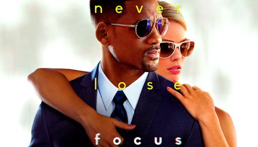 #Focus is such an unbelievably good movie!! Haven't seen it in a couple years, forgot how much I loved it!! Will Smith & Margot Robbie are absolutely electric together, their chemistry is fucking incredible. If you haven't seen it, do so IMMEDIATELY pic.twitter.com/7eQGnO89hv
