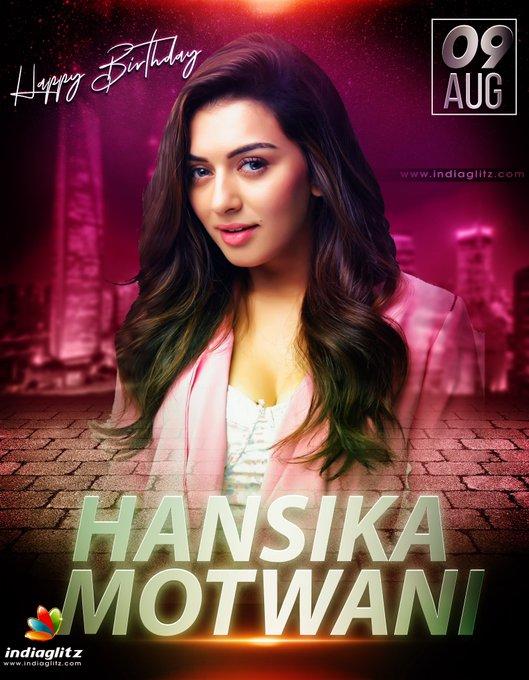 wishes Hansika Motwani a very happy birthday!