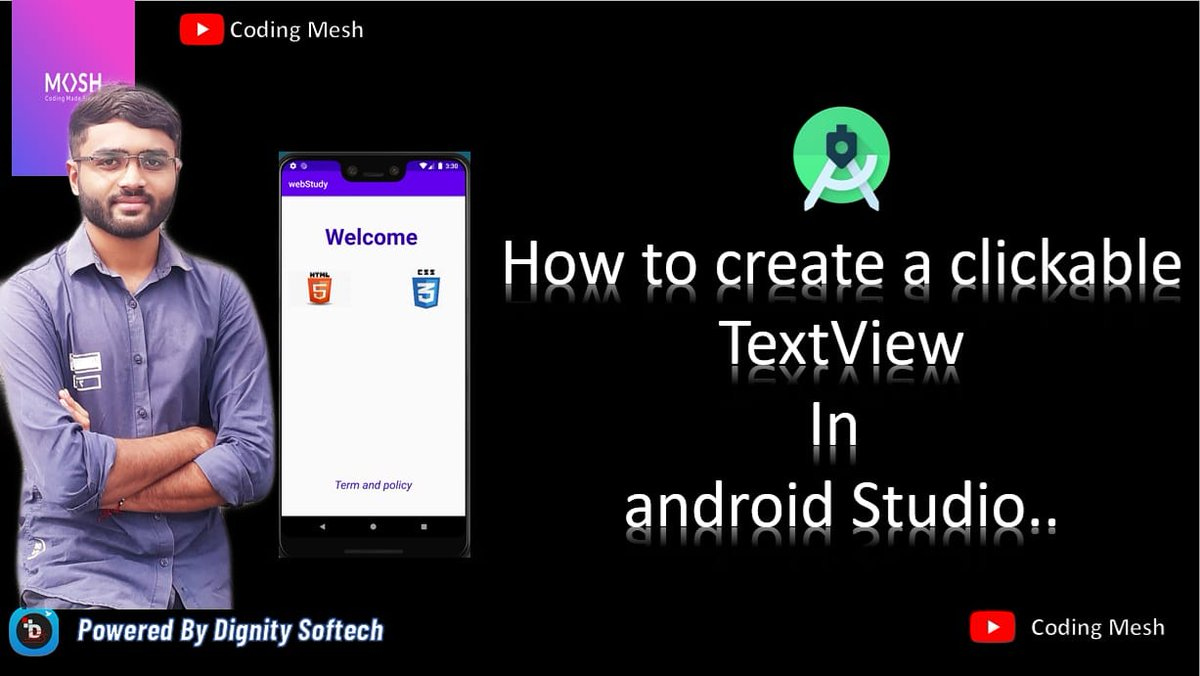 https://youtu.be/Slr7Ss7lMqE  #DignitySoftTech #software #android #androidstudio #softtechpic.twitter.com/x0CFkVFaLJ