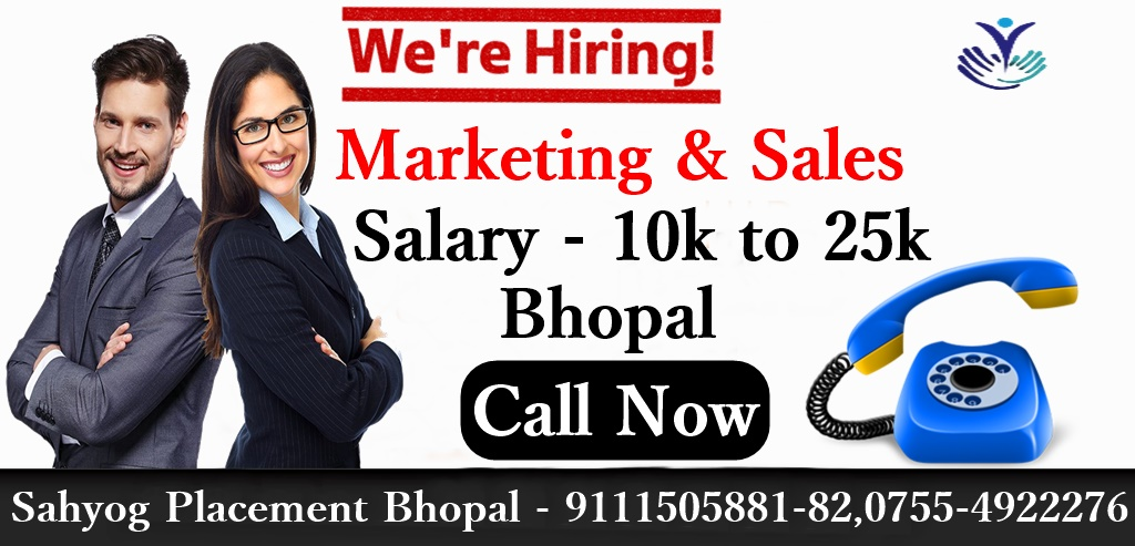 Urgent Requirement I'm #hiring for a Sales & Marketing( executive, Manager, RSM,ASM) at Sahyog Placement Bhopal  Apply Now - https://t.co/6E3TX8qkPo  Contact Person- Hr Priyanka Phone Number -9111505881-82,07554922276 #jobs #jobopportunities #jobvacancy #jobinterview #jobinbhopal https://t.co/cadmeCwIgA