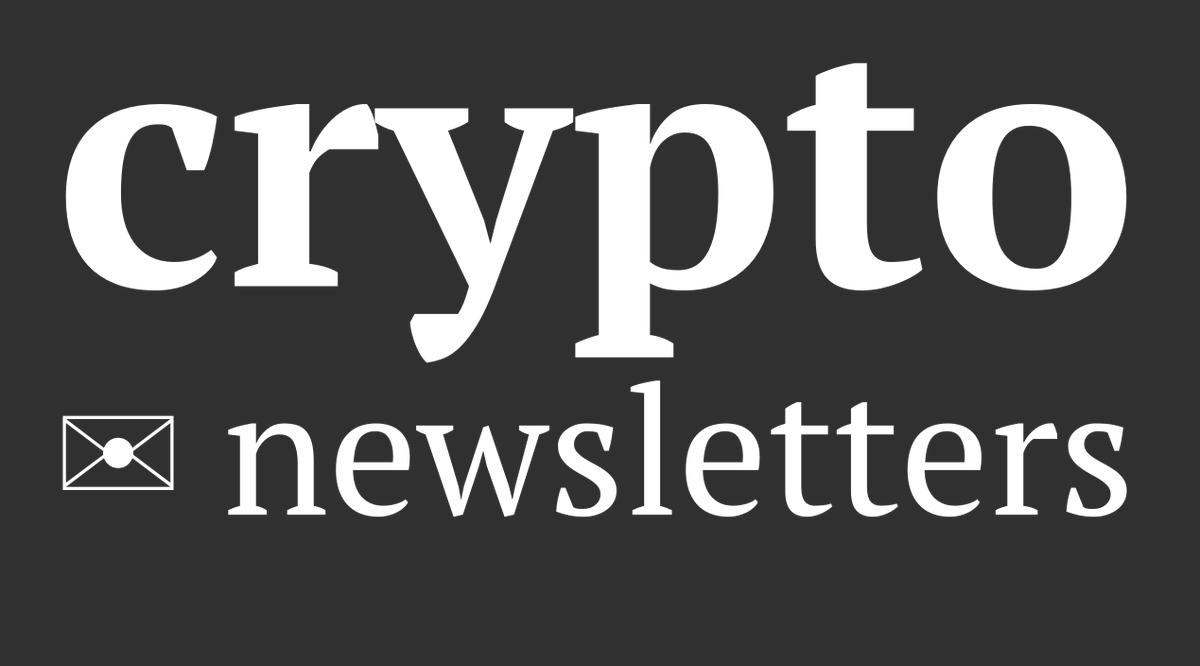 #Crypto Newsletters worth a gander https://www.publish0x.com/cryptokyo/crypto-newsletters-xpnryv…pic.twitter.com/CluVweDplp