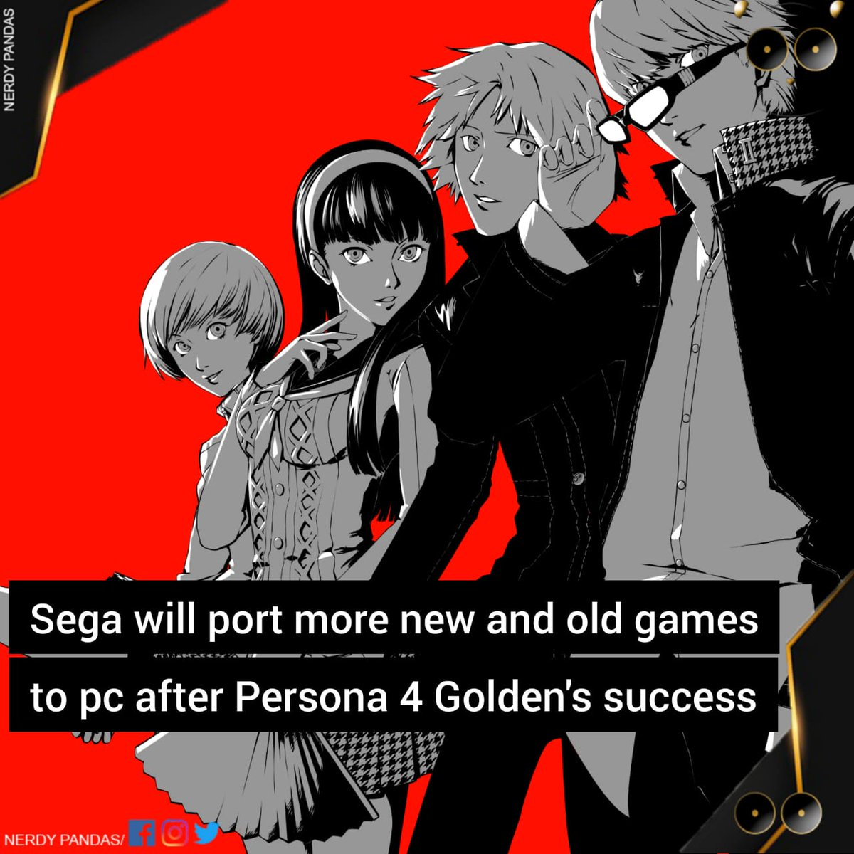 Have u played persona 4 ? #Gamer #games #videogames #pc #pcgaming #game #steam #gaminglife #gamerlife #gaming #xbox #ps #xboxone #ps4 #steam #friend #multiplayer #multiplayergame #arcade #minecraft #callofduty #virtualreality #technology #meme #dankmemespic.twitter.com/9ZAekwnqzd