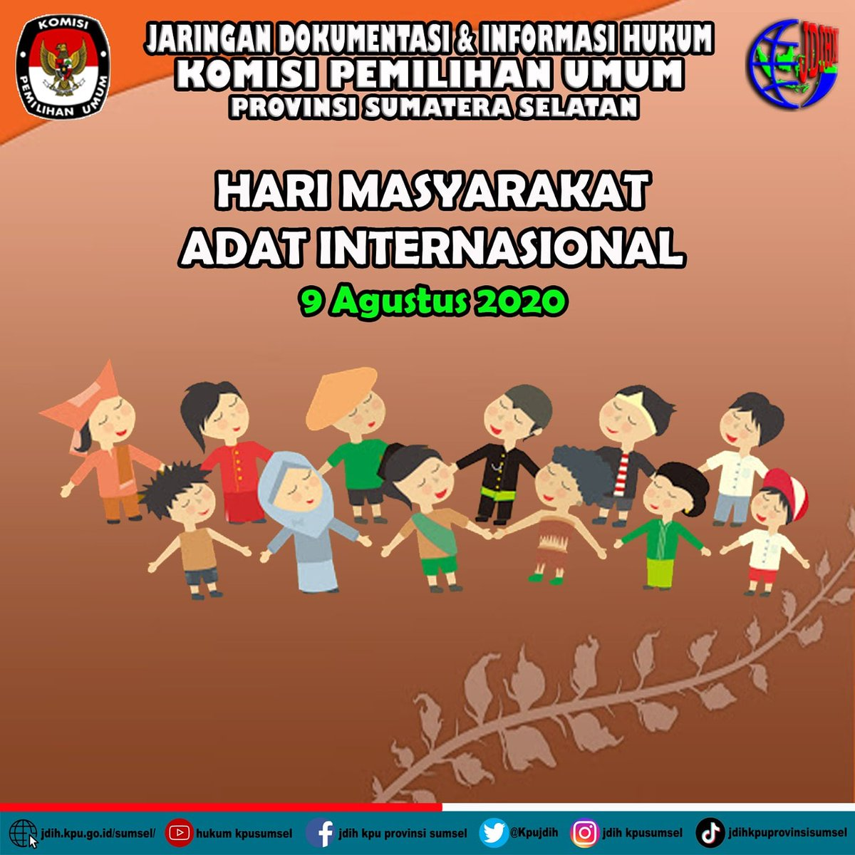 Pada 9 Agustus setiap tahunnya adalah Hari masyarakat adat internasional, Indonesia dengan beragam kekayaan kultur dan etnik yang ada, mari bersama menghormati dan melindungi hak-hak mereka. pic.twitter.com/RayIPesuen