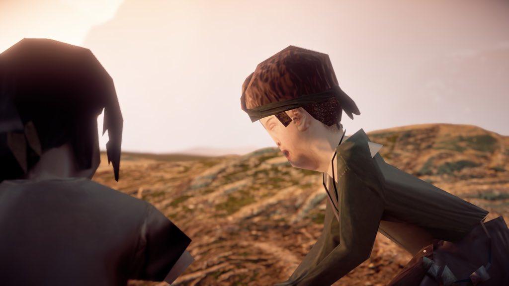 صور من بعض مشاهد لعبة Horizon Zero Dawn على PC😐  https://t.co/7OAzrBRBtB