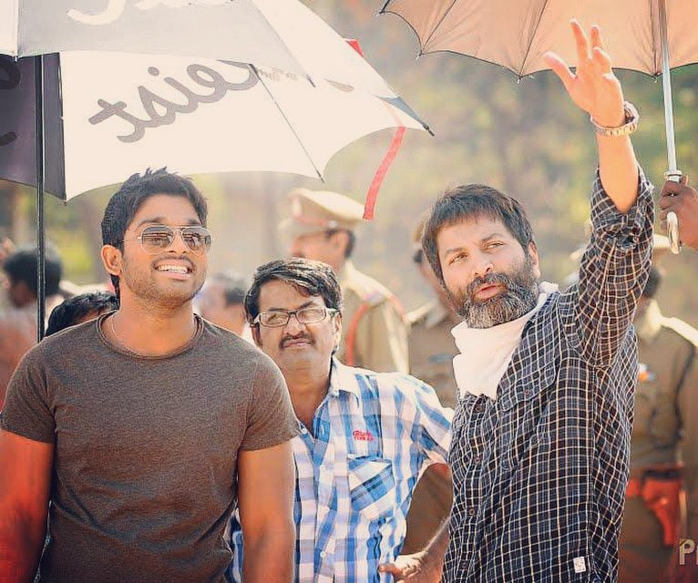 8 years of Julai . What a memorable hit . I would like to Thank  #trivikram garu , my dear friend @thisisdsp , and my producers Radha Krishna & Danaayya garu and the entire cast n crew for a wonderful experience. #julai https://t.co/HEMlGB6Kwi