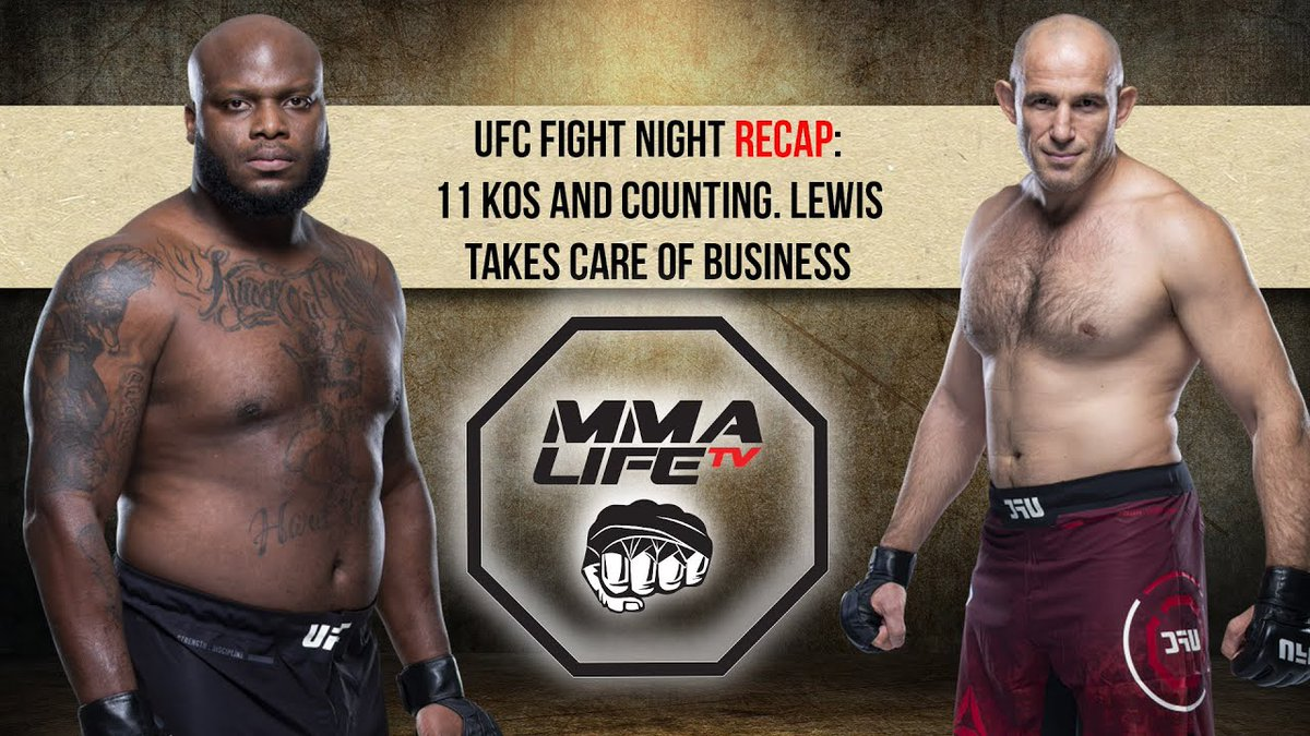 @Thebeast_ufc takes care of business against @oleynikufc  Checkout our fight recap as Derrick Lewis amasses an amazing 11 KOs in the UFC  Link - https://t.co/RZDF4iTgU8  #derricklewis #UFCVegas5 #ufc #blackbeast #AlexeyOleynik https://t.co/ILdCkvYb1Q