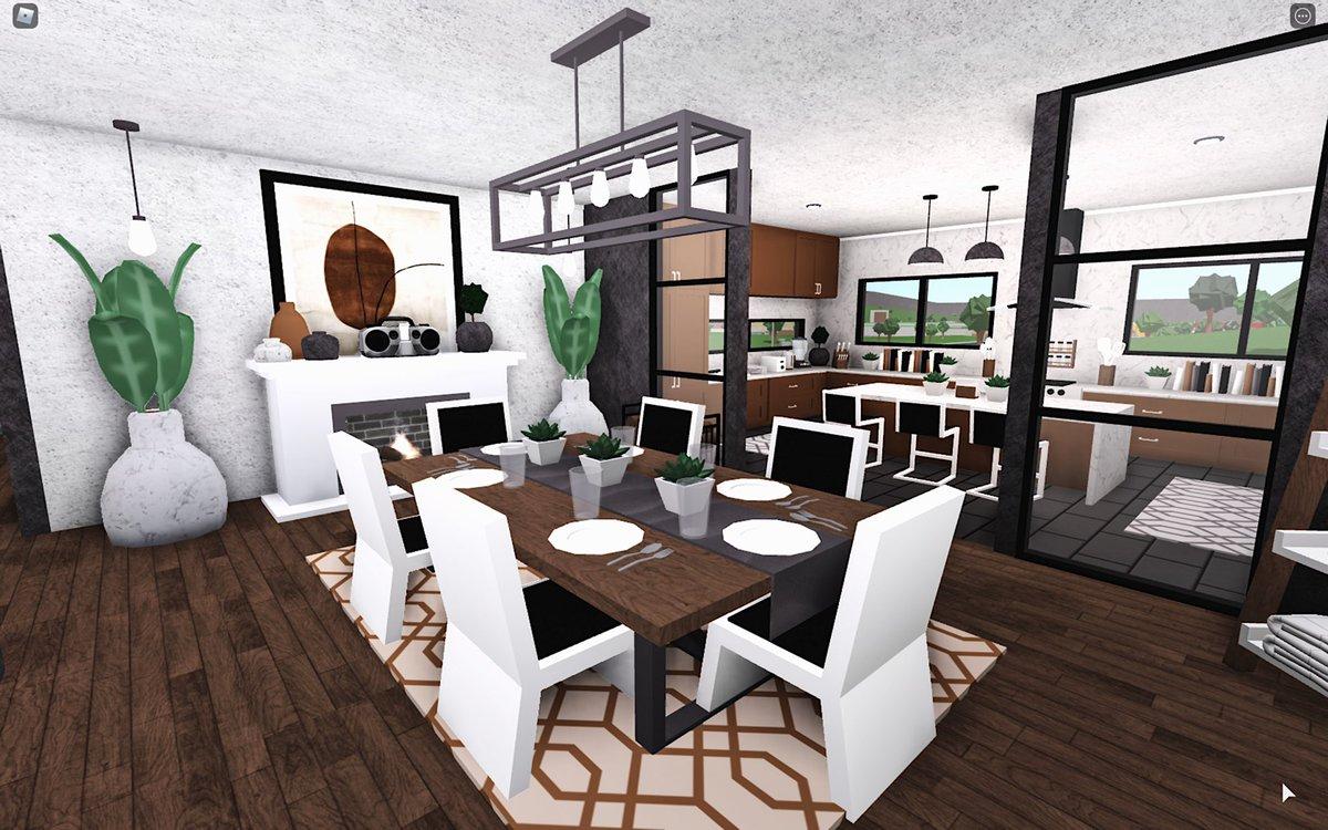 33 Cute Modern Bedroom Ideas Bloxburg Png