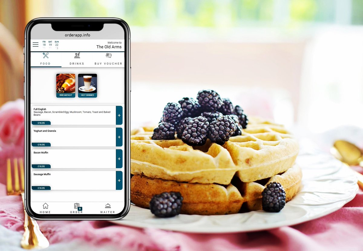 #orderApp is not only a #socialdistancing but opportunity for your Guests to order as and when they wish but also allowing your Team to focus more on Guests.  https://www.order-app.co.uk  #luxuryhotels #pub #restaurant #hotel #UKHospitality #contactlessordering #contactlessdiningpic.twitter.com/siqYNMVKgZ