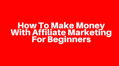 How To Make Money With Affiliate Marketing For Beginners (Start HERE): http://bit.ly/WTWNBlogStartHere1… <--- #affiliatemarketing #makemoneyonline #affiliatemarketingtraining #affiliatemarketingbusiness #socialmediamarketing #affiliateprogram #affiliate #onlinebusiness #moneyonlinepic.twitter.com/Bvqo7Ecmrn