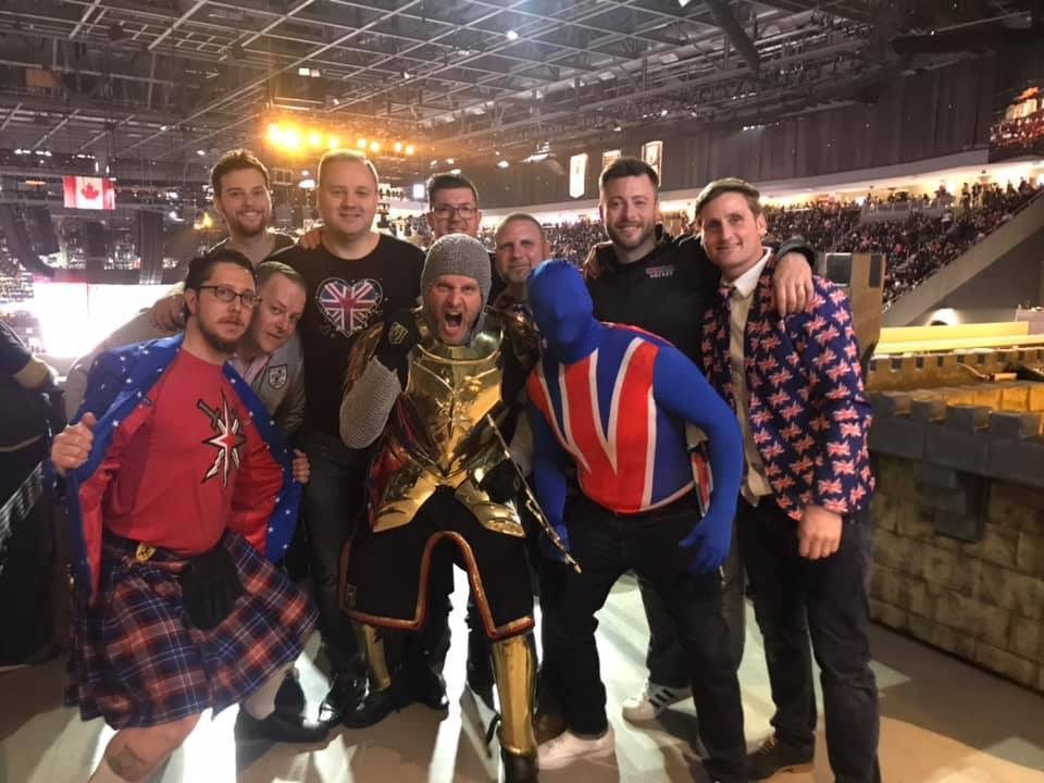 @RobinLehner I'm good friends with Lee the Golden Knight and live in NC. VGKs are my team in the West and I'm a goalie as well. Your kit is spot on Mate and killing it in the round robin series! You and the boys #GoKnightsGo #protectthefortress in Round one!pic.twitter.com/77QVy2qOFR
