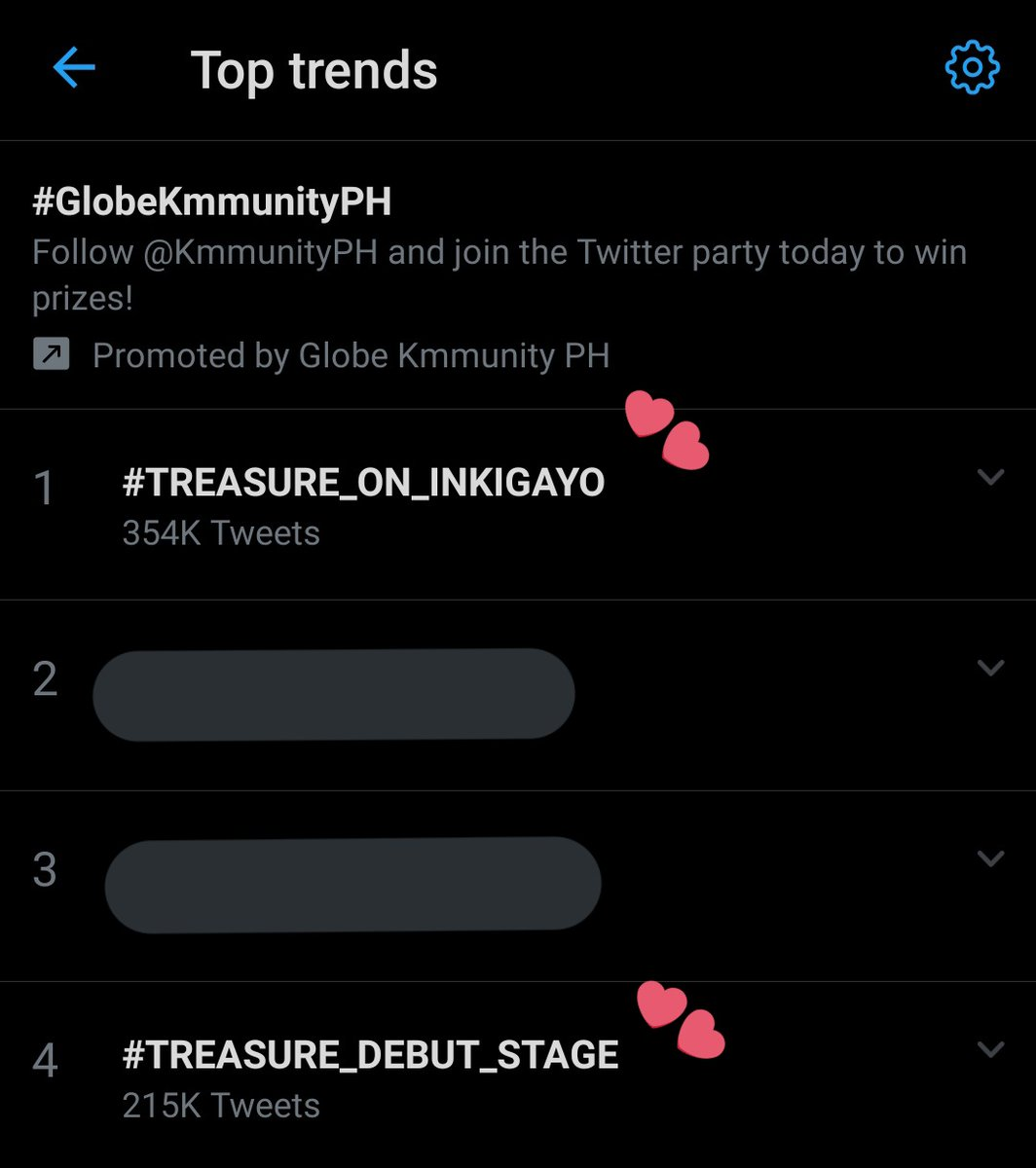 we trending #1 and #4   now go stream boy mv and live on both yt and naver #TREASURE_ON_INKIGAYO  #TREASURE_DEBUT_STAGE  @treasuremembers  @ygtreasuremakerpic.twitter.com/VSQyLQtviY