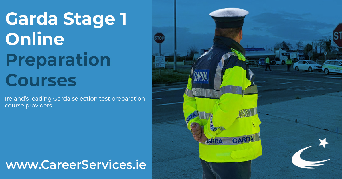 Our Garda Stage 1 online course is now available to book and includes all the test styles that have been used at Stage 1 in Garda recruitment campaigns for the past 25 years!  Find out more today: https://t.co/GMKejXag77 https://t.co/w52h1hSg7s