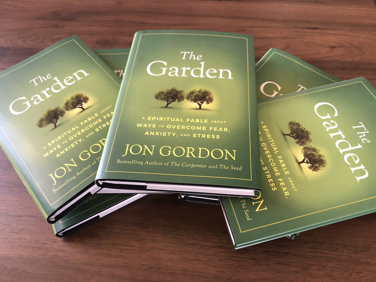 Handing these out today for our next staff read. @JonGordon11