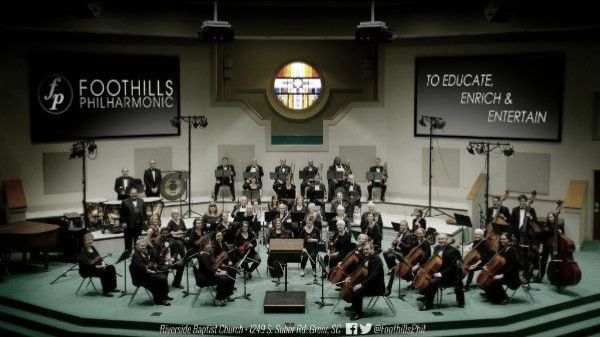 An Update from Foothills Philharmonic -