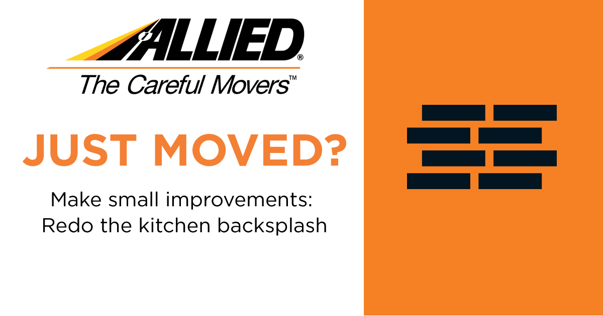#JustMoved - Update your kitchen with a new backsplash. pic.twitter.com/CGOU9SN7ew