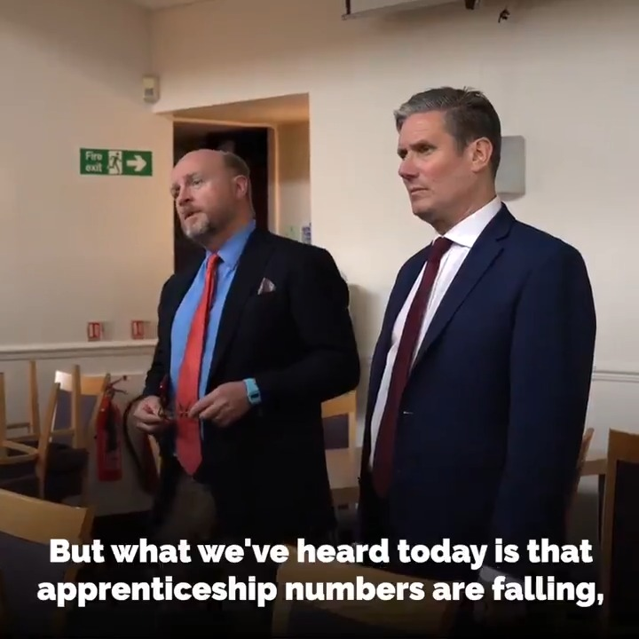 The fight for Jobs Jobs Jobs has always been at the heart of @UKLabours battle. Thats why together with @Keir_Starmer weve launched our campaign to Save Our Manufacturing - join us! bit.ly/2EwOo5u