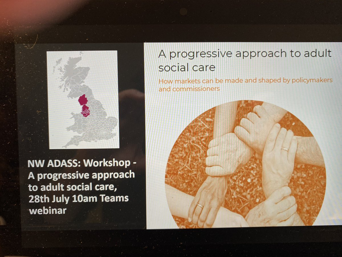 test Twitter Media - We're launching our report 'A progressive approach to adult social care' with @CLESthinkdo @KnowsleyCouncil @Stephjb14. Looking at commissioning through a community wealth building lens. @1adass https://t.co/kPcfKrwmC8