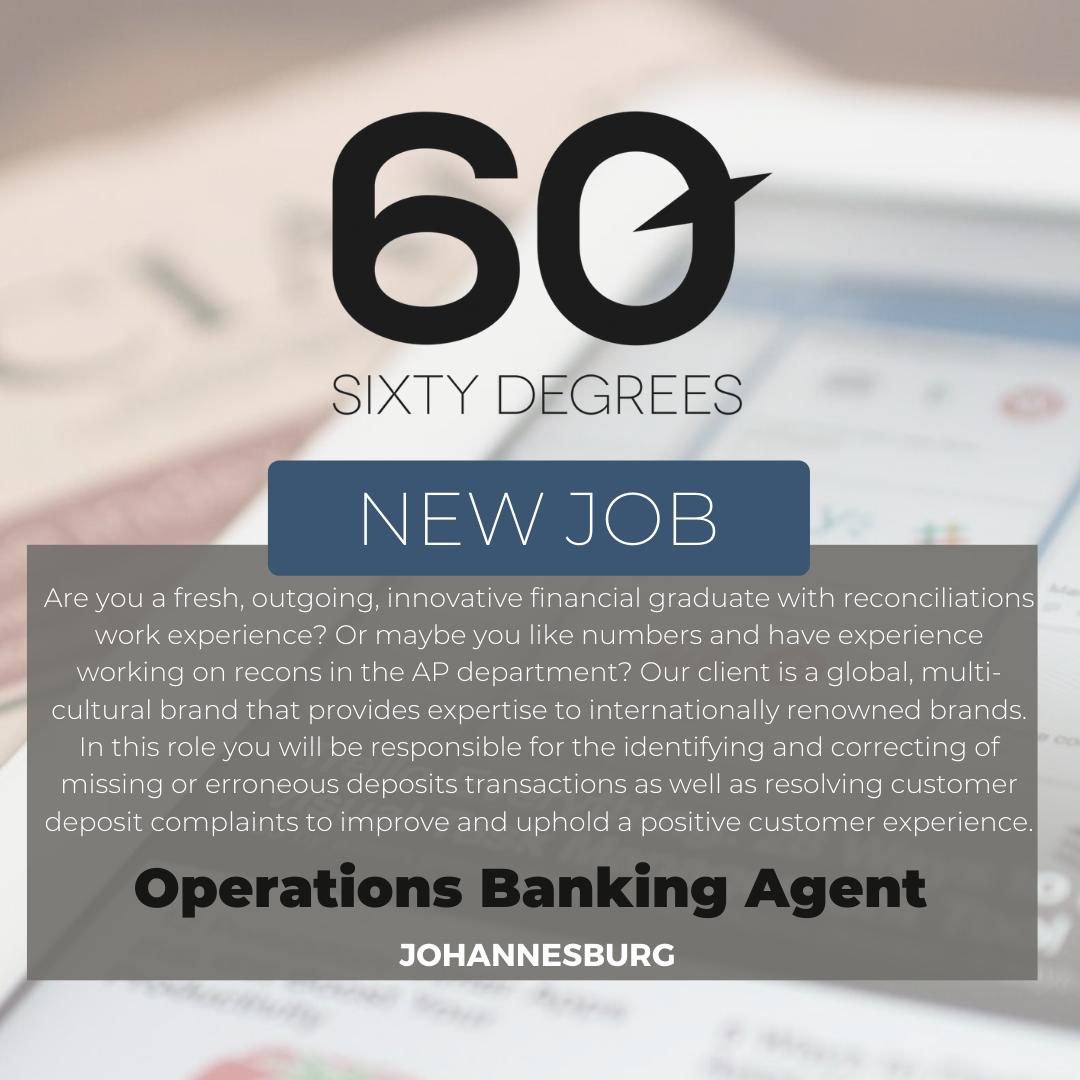 test Twitter Media - New #JobAlert - Operations Banking Agent in JHB  https://t.co/UC5LqzQVRj  #rolesinJHB #finance #60Degrees #60DRecruiter #60Droles https://t.co/CdADjEAP6c
