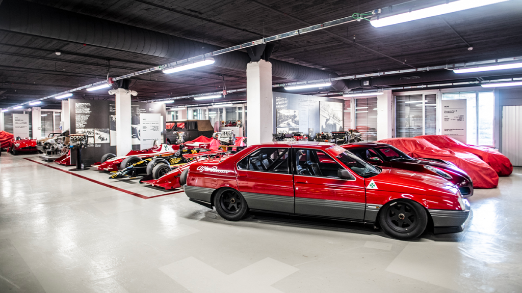 Come discover all the unique Alfa Romeos of our Collezione Storage Room at our museum in Arese. Write an e-mail to collezione@museoalfaromeo.com to book your visit.   📷: Remi Dargegen https://t.co/5vRC14Yl56
