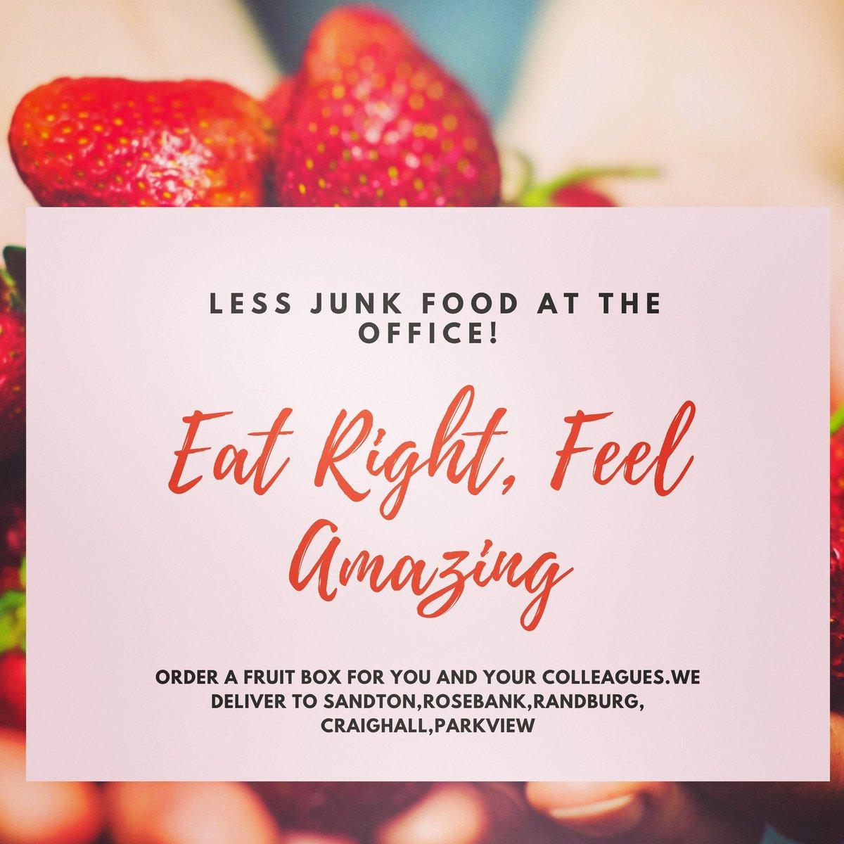 Kwezigidi Trading Coporate wellness campaign 2020. #fruitboxes  #officefruits #DJSBU email at: kwezigidi@gmail.com Company orders only https://t.co/qSIwf1lGHu
