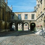 Image for the Tweet beginning: Peterhouse College, Cambridge and EventMAP