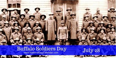 Today We Honor Buffalo Soldiers Day!