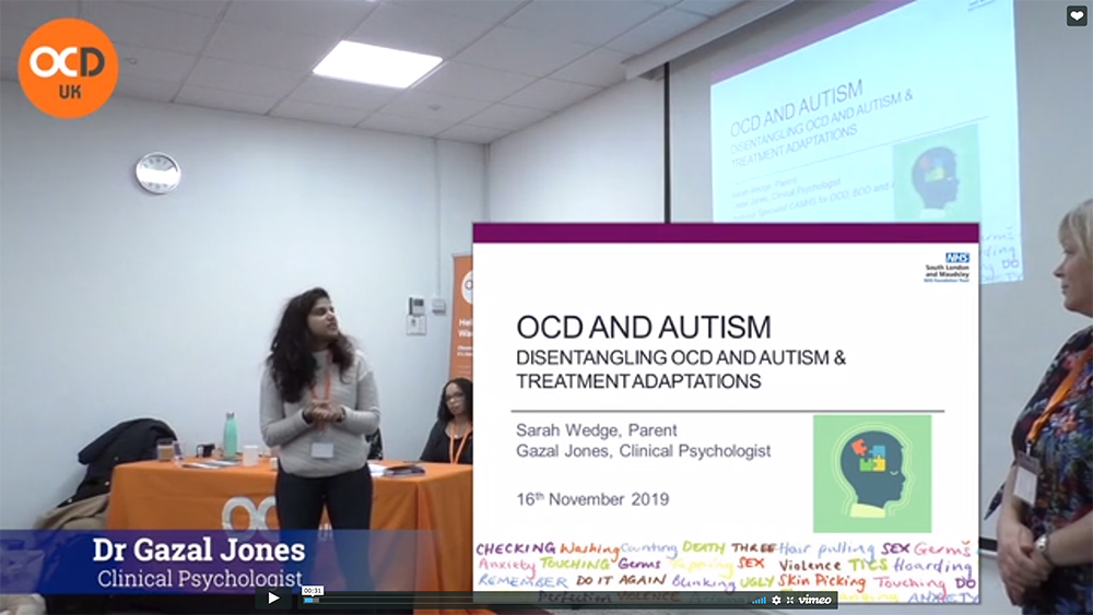 Ocd Uk On Twitter Ocd And Autism A Really Informative Presentation By Dr Jones And Sarah At Last Years Conference The Presentation Was Designed For Parents Of Children Camhs Age But Very Informative
