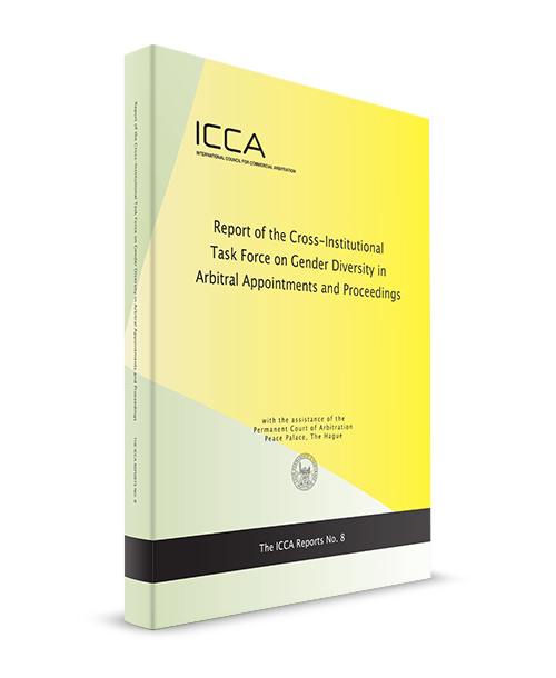 1 of 2: We are pleased to announce the release of the Report of the Cross-Institutional Task Force on Gender Diversity in Arbitral Appointments and Proceedings. Access the Report today on @KluwerArb: https://t.co/LtupwWgNbK and on the ICCA Website. https://t.co/za6qiAobeC