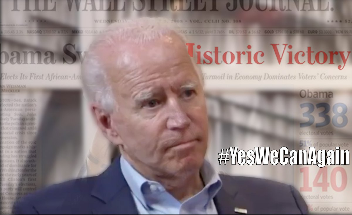 1.3 million views on our Biden and Obama video #YesWeCanAgain https://t.co/SC8eyCyKoQ