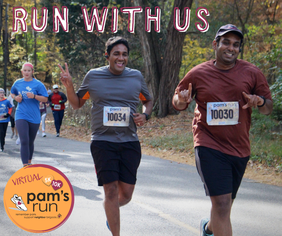 We're hoping to get runners, walkers and rollers from each state.  We need everyone's help to spread the word about this great opportunity to support our work while staying active!