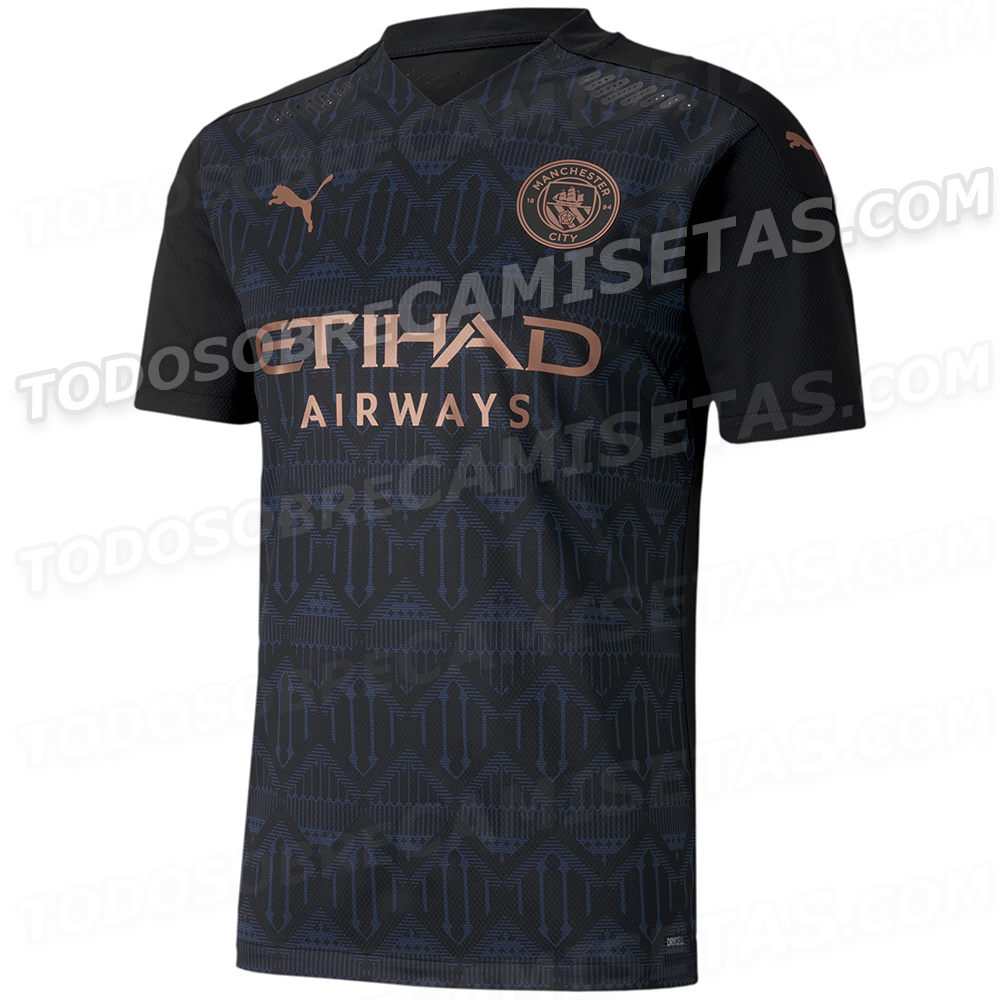 Manchester City 2020-21 Away Kit