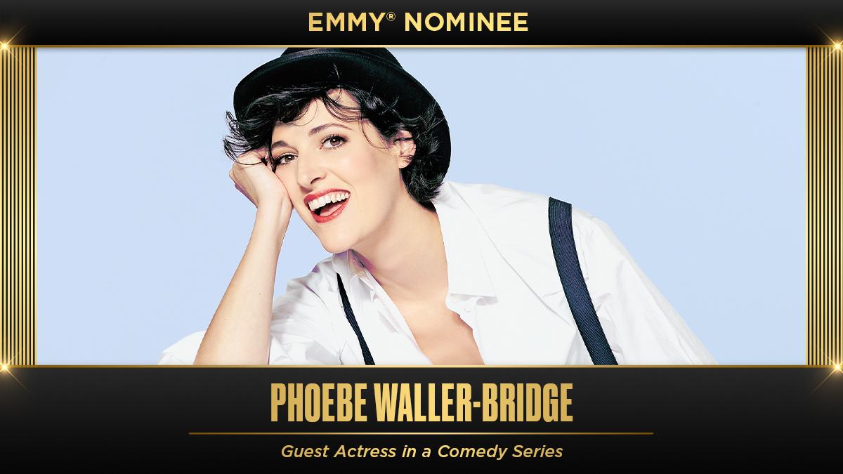 👑 Phoebe Waller-Bridge 👑 Congrats on the nomination!