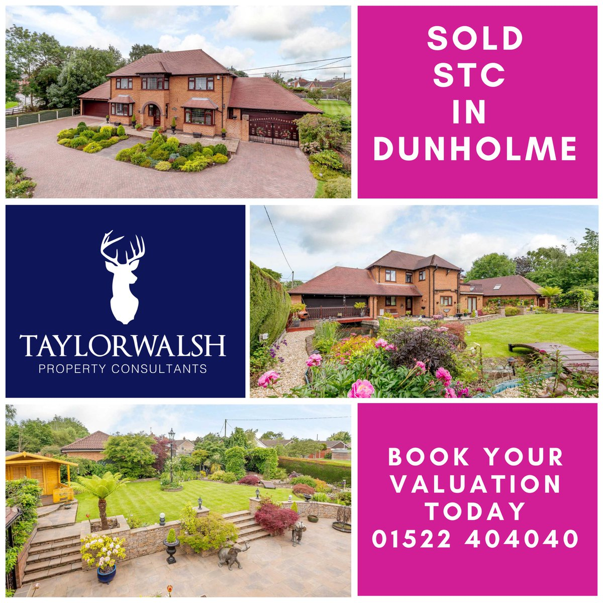 SOLD STC after being marketed with two previous agents. Superb result from the team 👏🏻 🔥 🏡  #dunholme #lincoln #sold #estatesgent @TaylorWalshLinc https://t.co/dRJpKwp7Rv https://t.co/LljzZct9qT