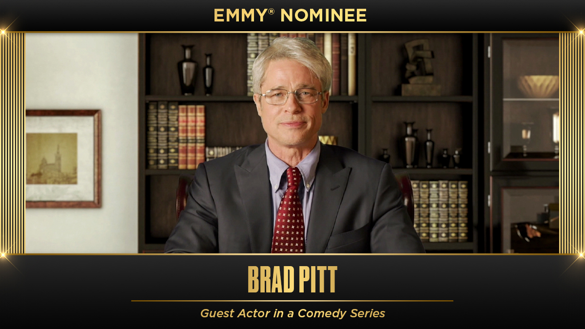 Congrats to Brad Pitt on the Emmy nomination ‼️