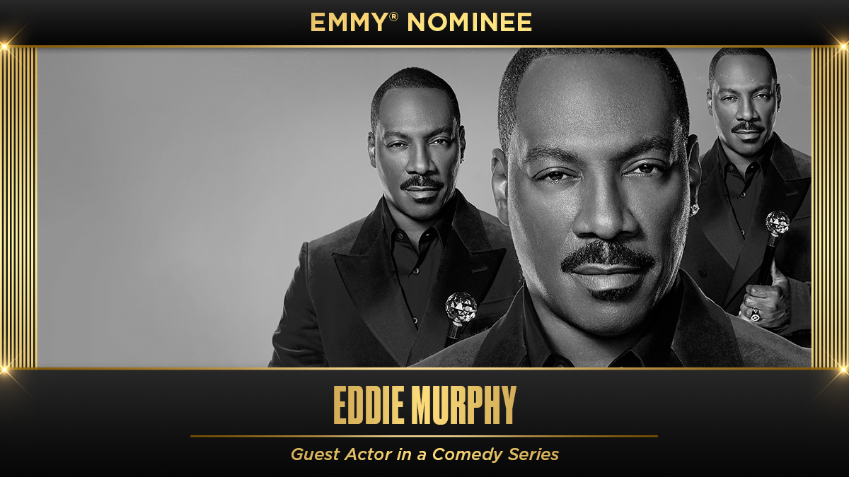 Returned to SNL 🏆 Nominated for an Emmy 🏆 Congratulations, Eddie!