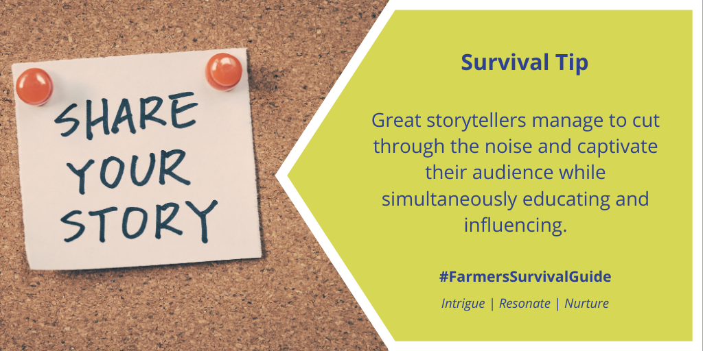 What are three things you can do to tell a better #CdnAg story? Check out this blog for tips: https://t.co/0R4jbhyUtS   #farmtoconsumerconvo #FSGtip #agcomm #AgTwitter https://t.co/u4jPpRMB5C