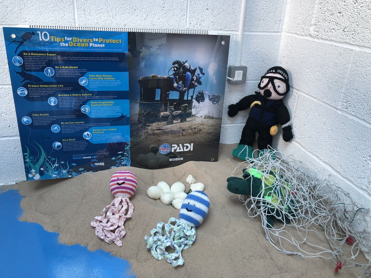 During lockdown, our #100AWARE partner @StellarDivers kept itself busy and continued to support Project AWARE by knitting these beautiful octopuses 🐙 and donating proceeds to carry out our mission!  There are so many ways to support ocean conservation! https://t.co/0V1M47Tofu https://t.co/CJBeoZ6fp2