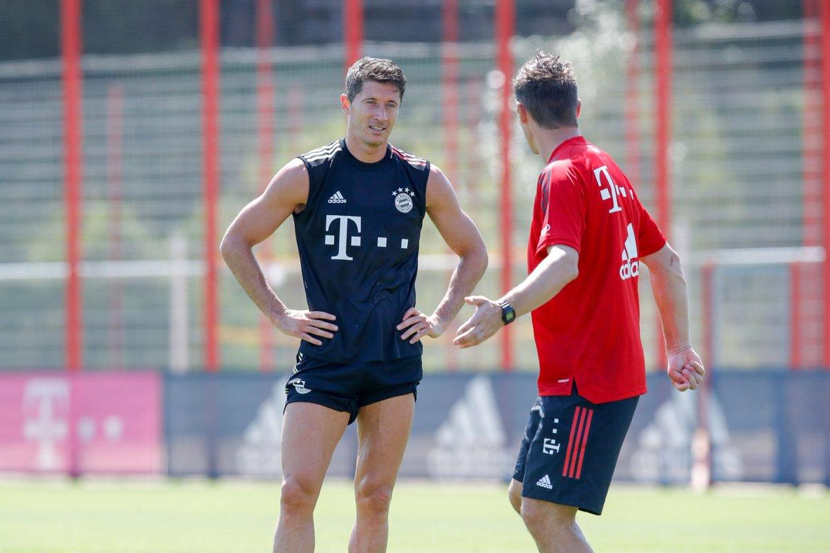 "Bayern & Germany on Twitter: ""📸 Miroslav Klose & Robert Lewandowski… """
