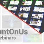 Image for the Tweet beginning: #CountOnUs webinar next Friday: Apogee
