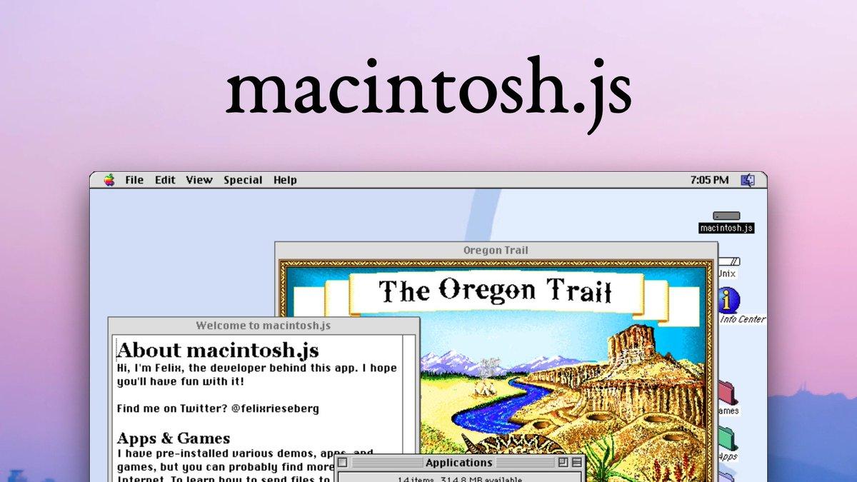 macintosh.js screenshot