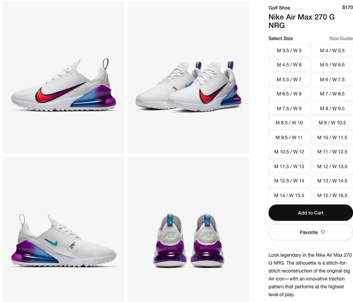 Sole Links On Twitter Ad Live Via Nike Us Nike Air Max 270 G Nrg Https T Co K994r3fspm Https T Co K994r3fspm Https T Co K994r3fspm Https T Co Mxa9wfpddt