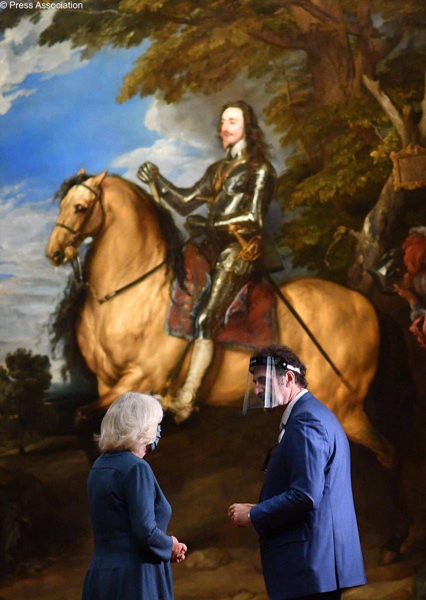 👏🏼👏🏼👏🏼 #DuchessOfCornwall #CharlesI #MuseumsAreOpen @KingCharlesIRTN @RoyalStuartSoc #StuartRoyal #RoyalHouseOfStewart ❤️ https://t.co/EXkaneyovR https://t.co/HPXODUI3kD
