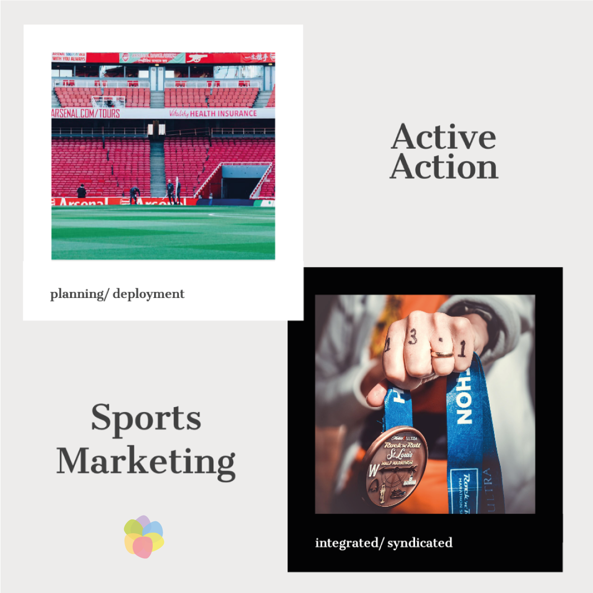 The sports bug inside us enables our end-to-end sports marketing solutions. Let's talk! #OpenForBusiness  #Sports #SportsMarketing #Strategy #SportsMarketingStrategy #ExperientialMarketing #Advertising #AdvertisingIndia #AdvertisingLife #Huddlers #WeHuddle #HuddlersOriginalpic.twitter.com/SP9q990v3b