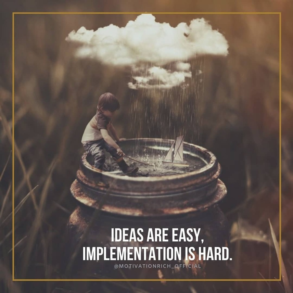 Follow @motivationrich_official   Ideas are easy, implementation is hard.  #motivationmonday #motivationquotes  #motivationquote #motivationmafia #motivationnation #motivation#motivationalthoughts #motivationalwords #motivationalspeakers #motivationspeaker #motivationevery…pic.twitter.com/Kj4777IIE4