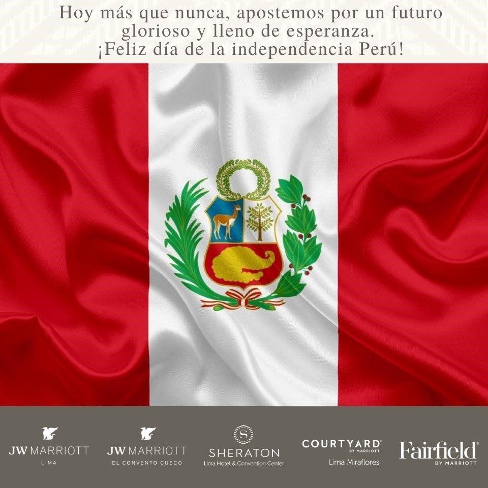 Porque creemos en ti y sabemos que de estos tiempos difíciles saldremos adelante juntos.  ¡Feliz día Perú! https://t.co/aqqOpQeZch