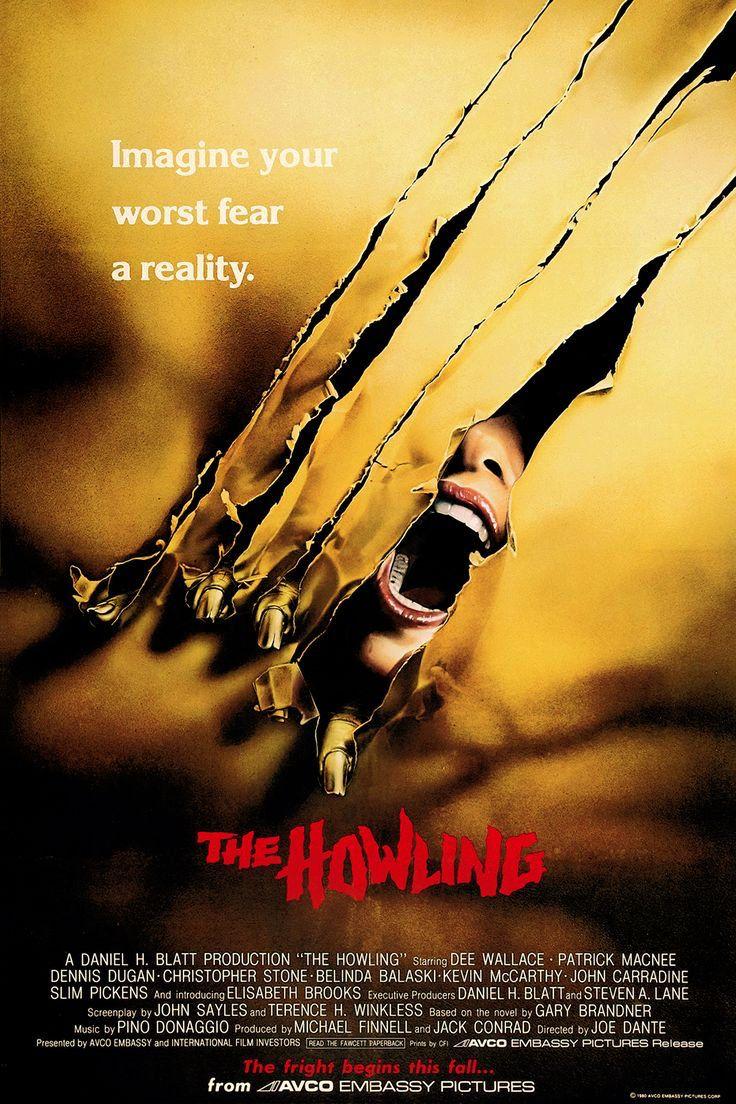 THE HOWLING (1981) by Joe Dante #horror #werewolf Dee Wallace, Patrick Macnee #poster pic.twitter.com/zQ5aLUL2vw
