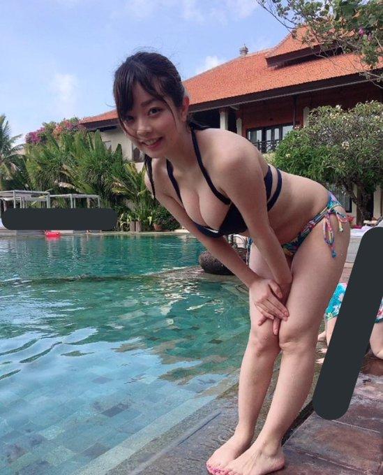 グラビアアイドル柚月彩那のTwitter自撮りエロ画像36