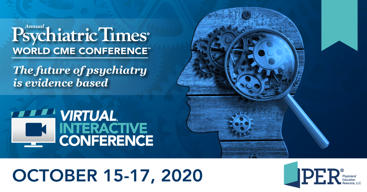 Join us for our VIRTUAL Annual Psychiatric Times World CME Conference - Oct. 15-17. Top minds in the Psychiatry field lead an INTERACTIVE program on the latest updates in topics such as sleep, major depressive disorder, bipolar and much more! Register: https://t.co/MtNuconAAR https://t.co/35hYJS2U5q